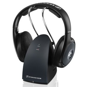 RS135-9 Open Supra-Aural Wireless Headphone System (Black)