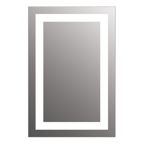 """View Larger Image of Allegro 24"""" x 36"""" LED Lighted Bathroom Wall Mounted Dimmable Mirror"""
