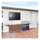 """View Larger Image of Cover for Ultra Bright 86"""" Outdoor Television and Soundbar"""