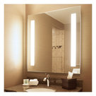 """View Larger Image of Lumin 24"""" x 36"""" LED Lighted Bathroom Wall Mounted Dimmable Mirror"""