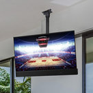 View Larger Image of Short Arm Outdoor TV Ceiling Mount (Black)