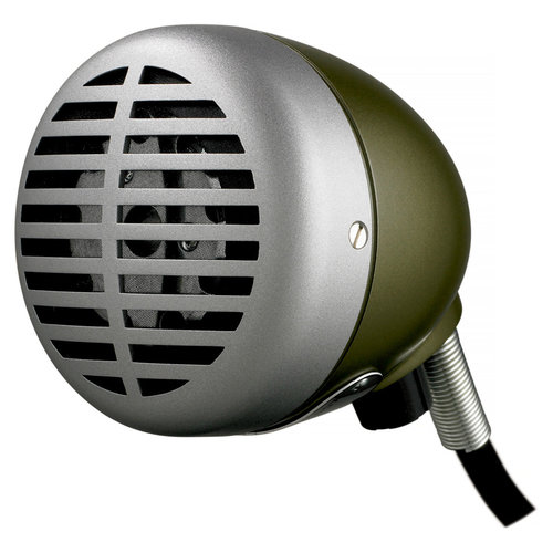 View Larger Image of 520DX Green Bullet Harmonica Microphone