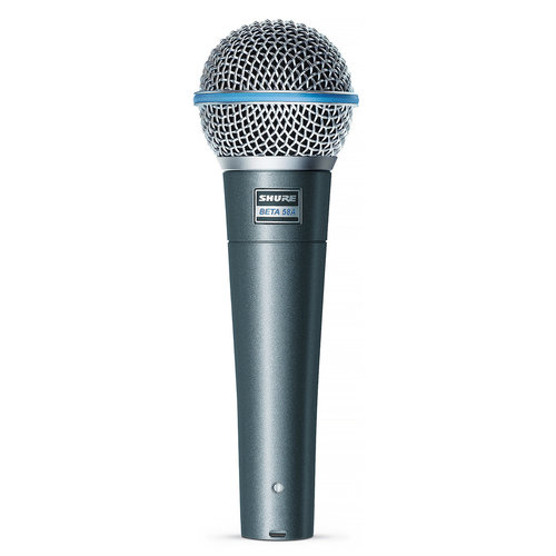View Larger Image of BETA 58A Supercardioid Dynamic Vocal Microphone