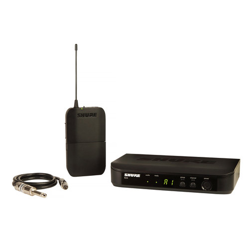 View Larger Image of BLX14-H10 Bodypack Wireless Guitar System