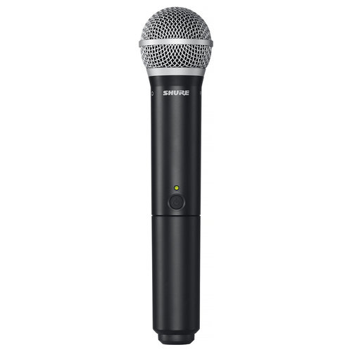 View Larger Image of BLX2/PG58-H10 Handheld Wireless Microphone Transmitter