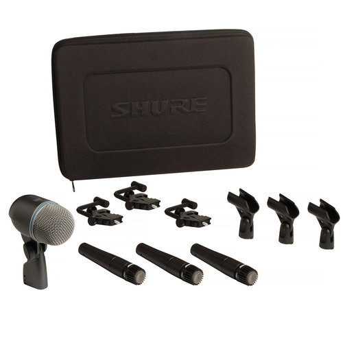 View Larger Image of DMK57-52 4-Piece Drum Microphone Kit