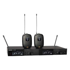 Dual Combo System with (2) SLXD1 Bodypacks and SLXD4D Receiver