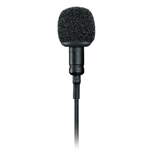 View Larger Image of MVL Lavalier Microphone (Black)