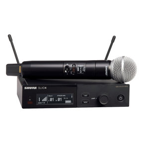 Wireless Vocal System with SM58