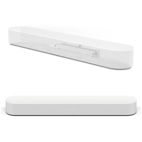 View Larger Image of Beam Compact Smart Sound Bar with Flexson Adjustable Wall Mount