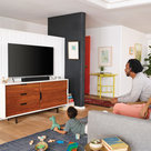 View Larger Image of Beam Compact Smart Sound Bar with Flexson TV Mount Attachment (Black)