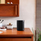 View Larger Image of One Voice-Controlled Wireless Smart Speaker Gen 2 with Short Power Cable (Black)
