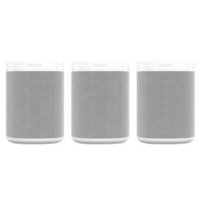 Three Room Set with Sonos One Gen 2 - Smart Speaker with Voice Control Built-In