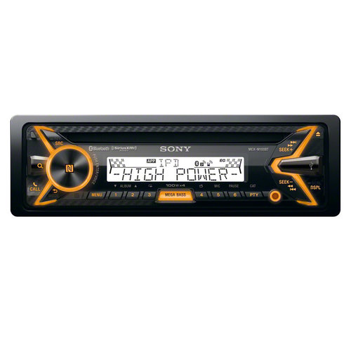 View Larger Image of MEX-M100BT Marine CD Receiver with Bluetooth & SongPal