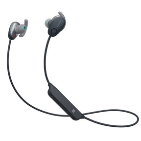 WI-SP600N Wireless Noise-Cancelling Earbuds with In-Line Remote and Microphone