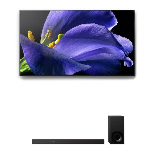 """View Larger Image of XBR-55A9G 55"""" BRAVIA OLED 4K UHD Smart TV with HDR and HT-Z9F 3.1-Channel Dolby Atmos Sound Bar with Subwoofer"""