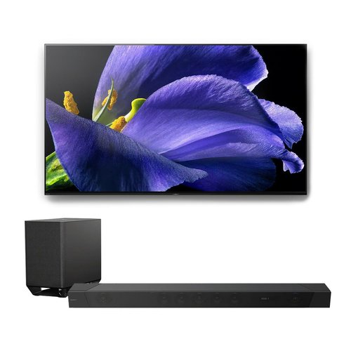 """View Larger Image of XBR-55A9G 55"""" BRAVIA OLED 4K UHD Smart TV with HDR with HT-ST5000 7.1.2ch 800W Dolby Atmos Sound Bar"""