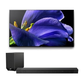 "XBR-65A9G 65"" BRAVIA OLED 4K UHD Smart TV with HDR with HT-ST5000 7.1.2ch 800W Dolby Atmos Sound Bar"
