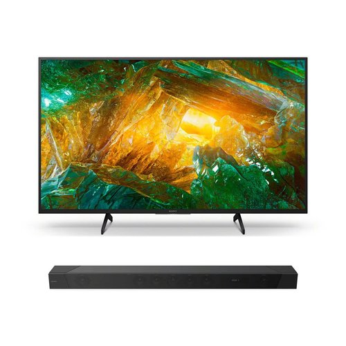 "View Larger Image of XBR-65X800H 65"" BRAVIA 4K Ultra HD HDR Smart TV with HT-ST5000 7.1.2ch 800W Dolby Atmos Sound Bar"