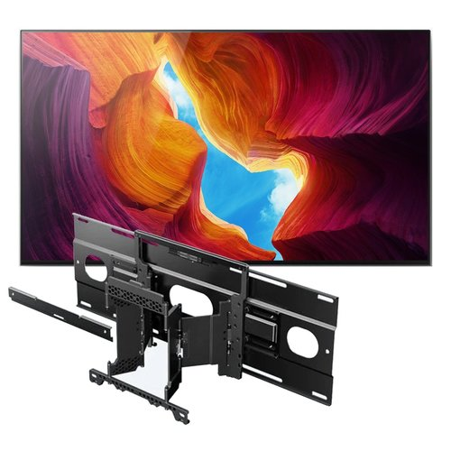 "View Larger Image of XBR-65X950H 65"" BRAVIA 4K Ultra HD HDR Smart TV with SU-WL855 Ultra Slim Swivel TV Mount"