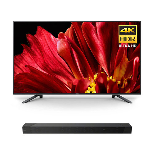 """View Larger Image of XBR-65Z9F 65"""" MASTER Series BRAVIA 4K HDR UHD TV with HT-ST5000 7.1.2ch 800W Dolby Atmos Sound Bar"""