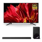 """View Larger Image of XBR-65Z9F 65"""" MASTER Series BRAVIA 4K HDR UHD TV and HT-X9000F 2.1-Channel Dolby Atmos Sound Bar with Subwoofer"""