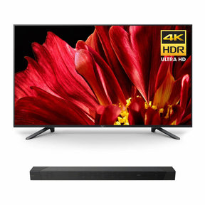 "XBR-75Z9F 75"" MASTER Series BRAVIA 4K HDR UHD TV with HT-ST5000 7.1.2ch 800W Dolby Atmos Sound Bar"