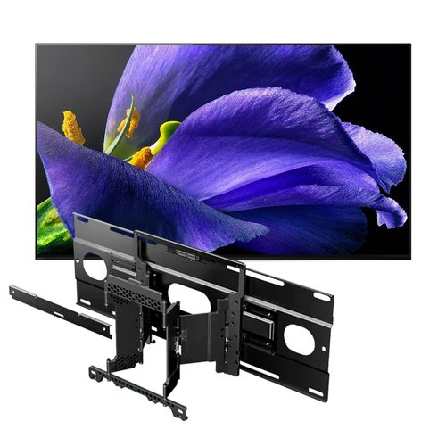 """View Larger Image of XBR-77A9G 77"""" BRAVIA OLED 4K UHD Smart TV with HDR with SU-WL855 Ultra Slim Swivel TV Mount"""