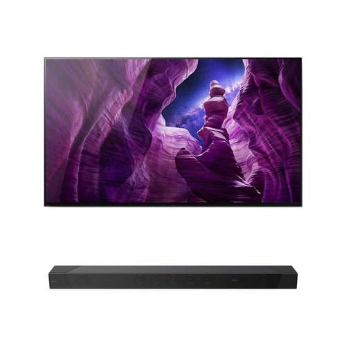 """View Larger Image of XBR55A8H 55"""" BRAVIA OLED 4K Smart TV with HDR with HT-ST5000 7.1.2ch 800W Dolby Atmos Sound Bar"""