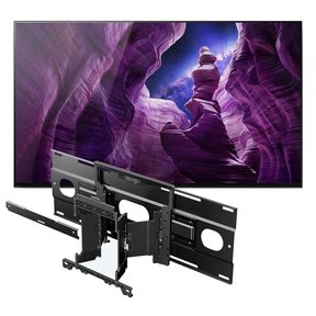 "XBR55A8H 55"" BRAVIA OLED 4K Smart TV with HDR with SU-WL855 Ultra Slim Swivel TV Mount"