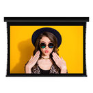 """View Larger Image of Luxus Electric Retractable Below Ceiling 120"""" HDTV Projector Screen (Firehawk G5)"""