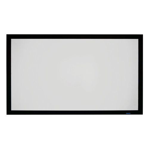 """View Larger Image of WallScreen UST 3.75 Fixed Frame 110"""" HDTV Projector Screen (GrayMatte 70)"""