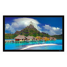 """View Larger Image of WallScreen UST 3.75 Fixed Frame 130"""" HDTV Projector Screen (GrayMatte 70)"""