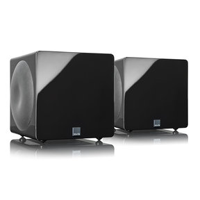 3000 Micro Subwoofers with Fully Active Dual 8-inch Drivers - Pair