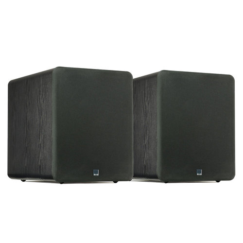 """View Larger Image of PB-1000 300 Watt DSP Controlled 10"""" Ported Subwoofers - Pair (Black Ash)"""
