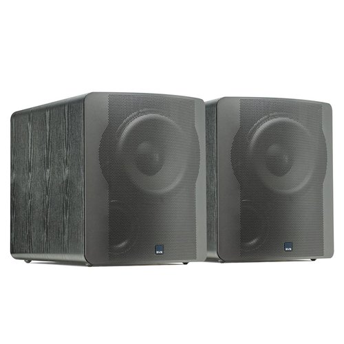 """View Larger Image of PB-2000 500 Watt DSP Controlled 12"""" Ported Subwoofers - Pair (Black Ash)"""
