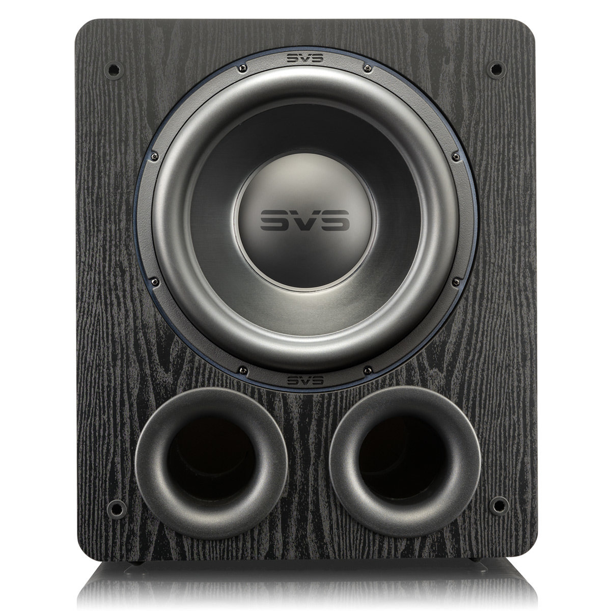 2,500W Peak Power Pair Premium Black Ash and DSP Control App - SVS PB-3000 13-inch Subwoofer with 800W RMS