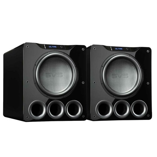 "View Larger Image of PB16-Ultra 1500 Watt 16"" Ported Cabinet Subwoofers - Pair (Piano Gloss Black)"