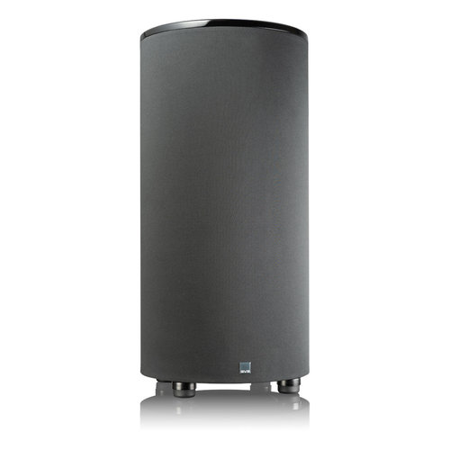 """View Larger Image of PC-2000 Pro 12"""" Ported Cylinder Subwoofer (Piano Black)"""