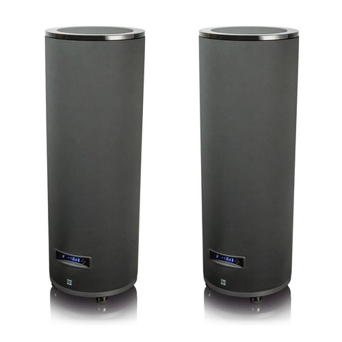 """View Larger Image of PC-4000 13.5"""" 1200W Cylinder Subwoofers - Pair (Piano Gloss Black)"""