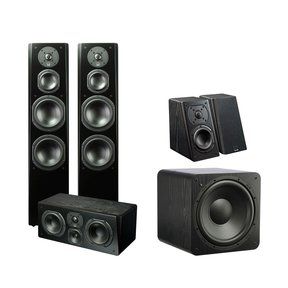 Prime 5.1 Home Theater System (Premium Black Ash)
