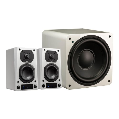 View Larger Image of Prime Wireless 2.1 Speaker System (White)