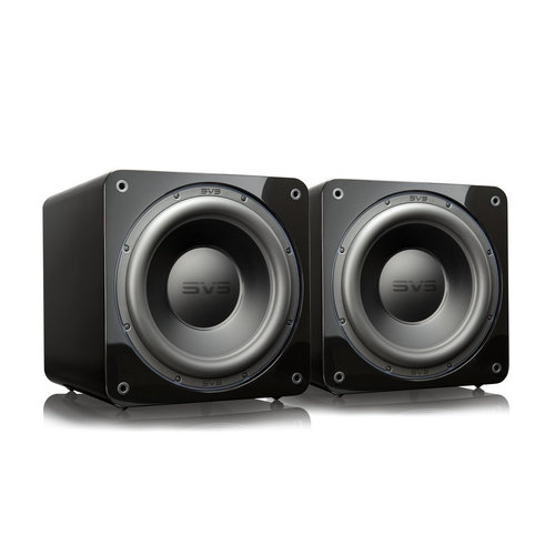 """View Larger Image of SB-3000 13"""" Subwoofer with 800W RMS, 2,500W Peak Power, Sealed Cabinet - Pair (Piano Gloss Black)"""