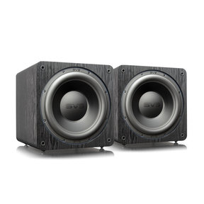 "SB-3000 13"" Subwoofer with 800W RMS, 2,500W Peak Power, Sealed Cabinet - Pair (Premium Black Ash)"