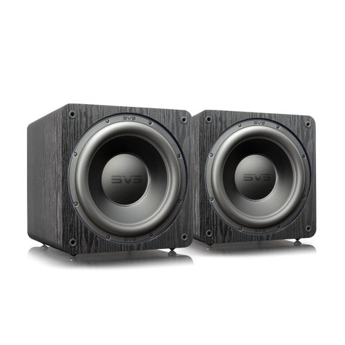 """View Larger Image of SB-3000 13"""" Subwoofer with 800W RMS, 2,500W Peak Power, Sealed Cabinet - Pair (Premium Black Ash)"""