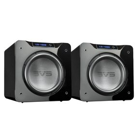 "SB-4000 13.5"" 1200W Sealed Box Subwoofers - Pair (Piano Gloss Black)"