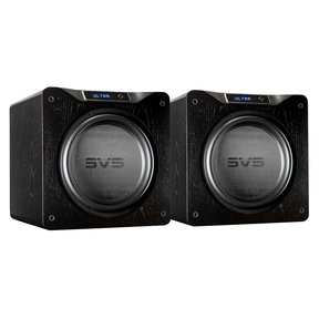 "SB16-Ultra 1500 Watt DSP Controlled 16"" Subwoofers - Pair (Black Oak Veneer)"