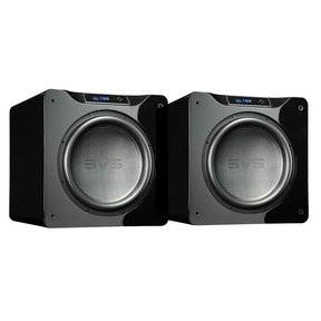 "SB16-Ultra 1500 Watt DSP Controlled 16"" Subwoofers - Pair (Piano Gloss Black)"