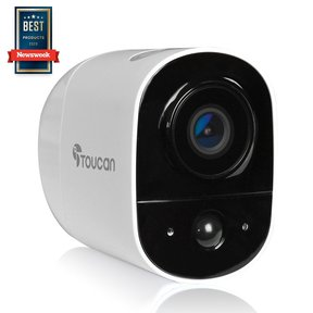 Wireless Outdoor Security Camera (White) - TWC200WU-TG