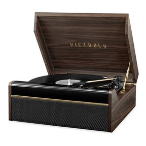 3-in-1 Avery Bluetooth Record Player with 3-Speed Turntable